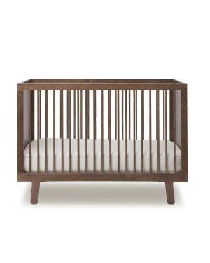 OEUF-SPARROW-Lit bébé design évolutif-Noyer