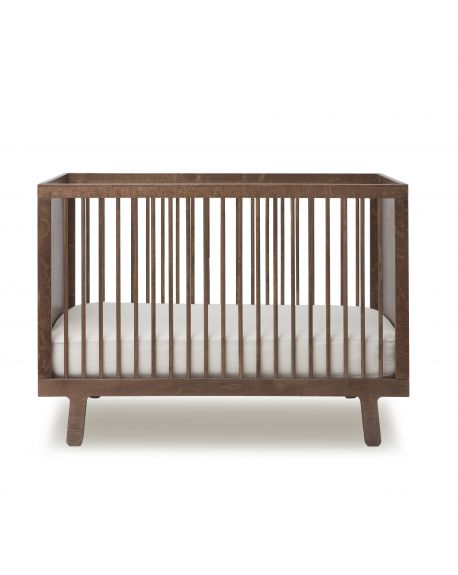 OEUF - SPARROW - Design convertible cot - Walnut