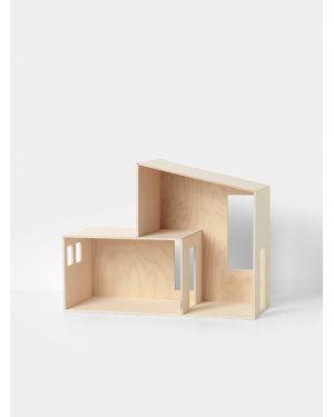 Ferm Living - Maison de poupée en bois - Petit