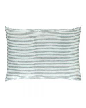 Lab - Taie d'oreiller en Lin - Rayé tricolore - 50x75 cm