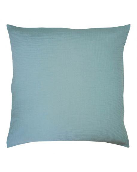Lab - Taie d'oreiller en gaze de coton - Bleu ciel - 50x70 cm