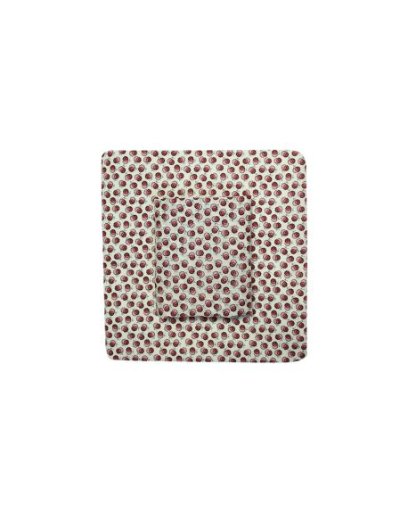 Lab - Taie d'oreiller Liberty Lion Blossom - Rose - 50x70 cm