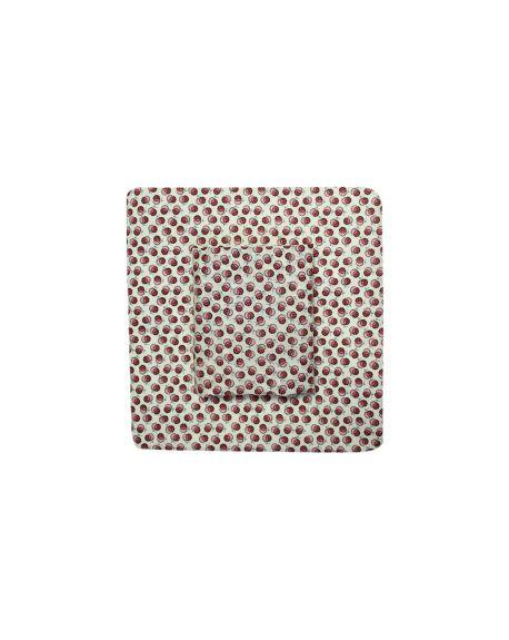 Lab - Pink Liberty Blossom Pillowcase - 50x70 cm