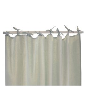 Lab - Sea Green linen curtain - 200x280cm