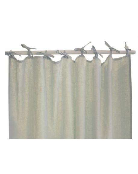 Lab - Sea Green linen curtain - 200x280cm