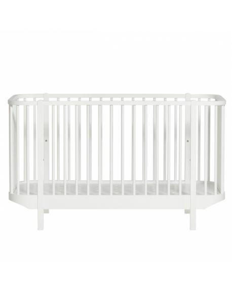 Oliver Furniture - Lit Bébé évolutif - Blanc - 70x140 cm
