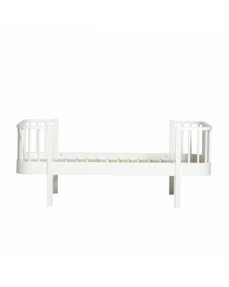 Oliver Furniture - Lit Junior - Blanc - 90x160 cm