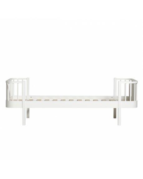 Oliver Furniture - Lit - Blanc - 90x200 cm