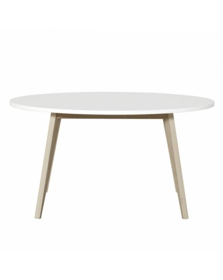 Oliver Furniture - Table Ping Pong - Blanc/Chêne