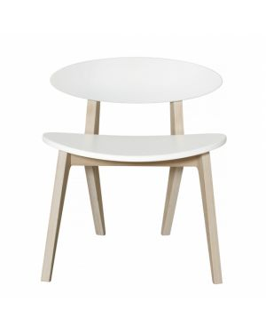 Oliver Furniture - Ping Pong Chair - White/Oak