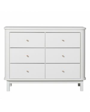 Oliver Furniture - Commode 6 tiroirs - Blanc