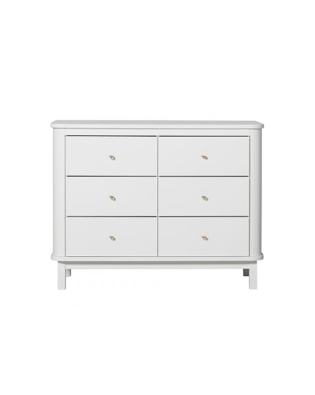 Oliver Furniture - Wood dresser- White
