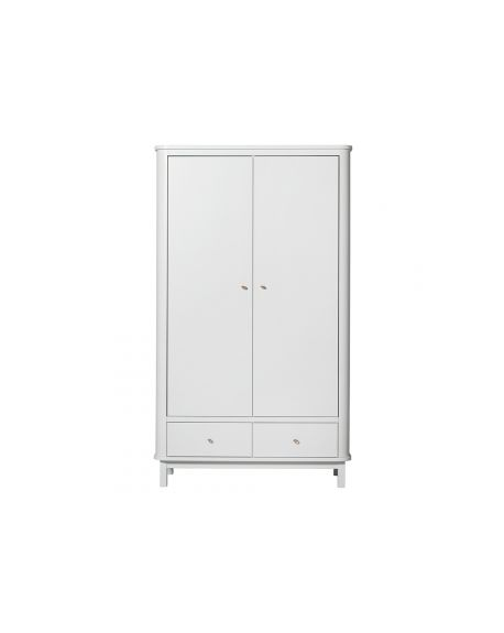 Oliver Furniture - Armoire 2 portes - BouleauBlanc