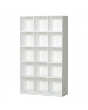 Oliver Furniture - Etagère 3x5 verticale Avec socle
