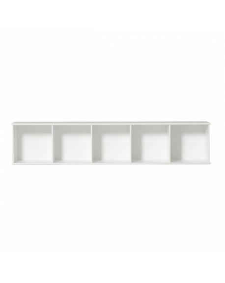 Oliver Furniture - Etagère 5x1 horizontale avec support, à suspendre