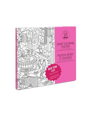 Omy - New York colouring Poster - 100x70cm