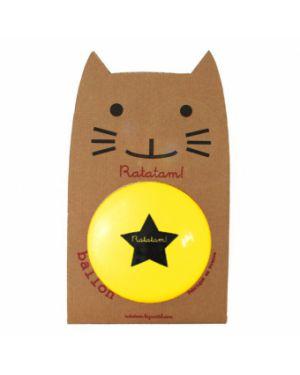 Ratatam - Ballon Jaune - 15 cm