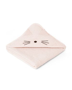 Liewood - Augusta Hooded Towel Cat - Pink
