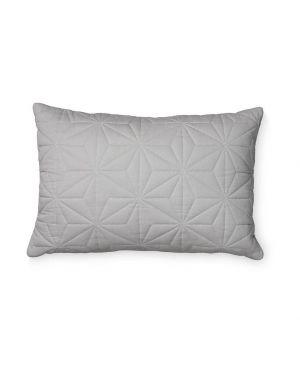 CAM CAM COPENHAGEN - Quilted Rectangular Cushion - Grey