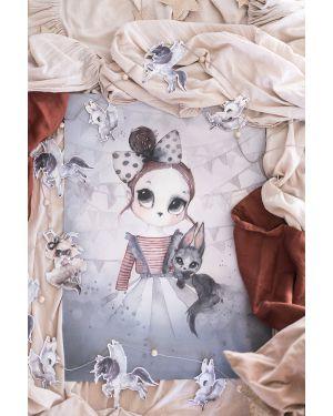 "MRS. MIGHETTO - Print ""Miss Emma"""