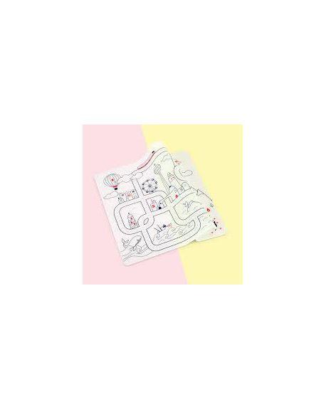 """SUPER PETIT - Set de table à colorier - """" City Aventure"""""""