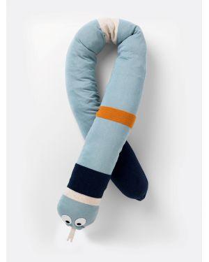 FERM LIVING - Cushion Stripy Snake - Blue