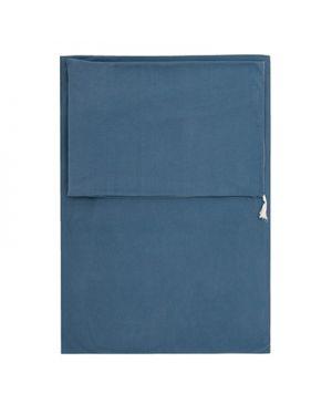 JACK N'A QU'UN OEIL - Duvet cover & pillow 140 x 200 cm Pegase - Blue / Grey