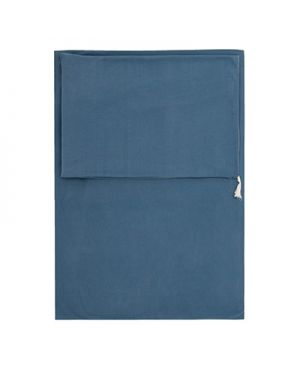 JACK N'A QU'UN OEIL - Housse de couette et taie 140 x 200 cm Pegase - Bleu/Gris