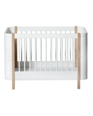 Oliver Furniture - Lit Bébé évolutif - Mini+ 68x122/162 cm - Chêne