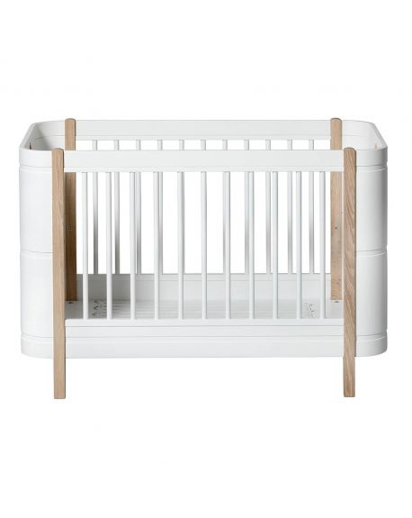 Oliver Furniture oliver furniture design baby wood cot convertible 70 x 140 cm