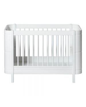 Oliver Furniture - Baby Cot - Mini+ 68x122/162cm - White