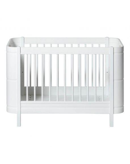 Oliver Furniture - Baby Cot - Mini+ 68x122/162cm - Oak