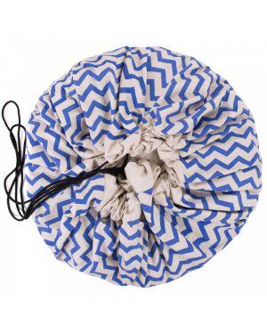 PLAY & GO - Sac de Rangement - ZigZag Bleu