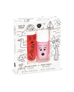 Nailmatic - Rollette Nail Polish Duo Set - Holidays
