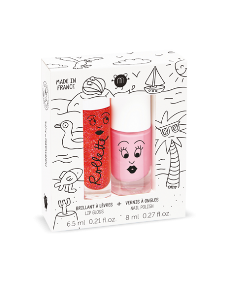 Nailmatic - Coffret duo rollette + vernis - Holidays