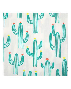 Meri meri - Cactus Napkins - Pack of 20