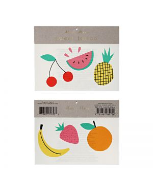 Meri Meri - Tatouages Fruits