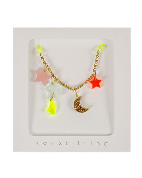 Meri Meri - Stars & Moon Necklace