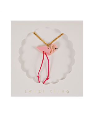 Meri Meri - Flamingo Necklace