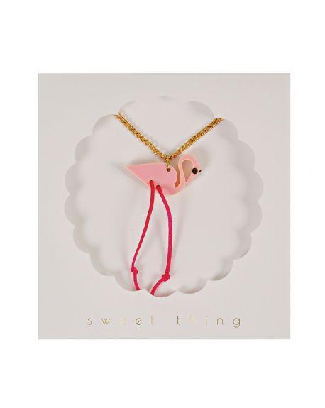 Meri Meri - Flamingo Necklace