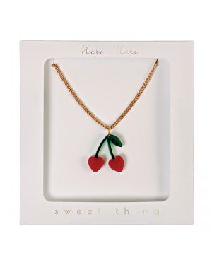 Meri Meri - Cherry Charm Necklace