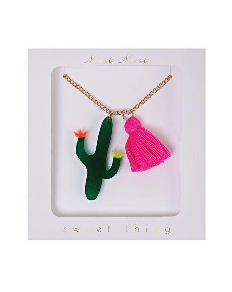 Meri Meri - Collier Cactus