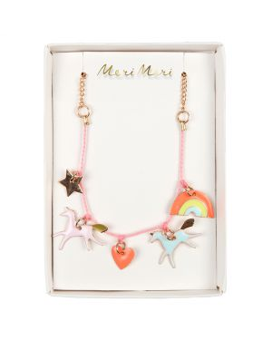 Meri Meri - Unicorn Charm Necklace