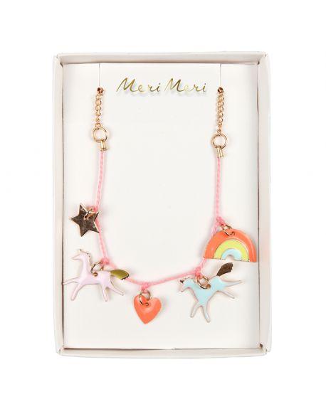 Meri Meri - Unicorn Charm Necklace