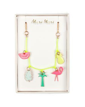 Meri Meri - Collier Charms Tropical