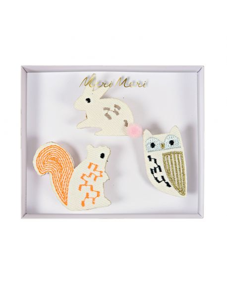 Meri meri - Woodland Creatures Brooches
