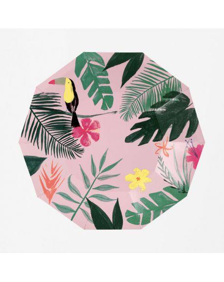 Meri Meri - Tropical Large Plates