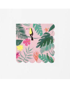 Meri Meri - Grandes Serviettes Tropical