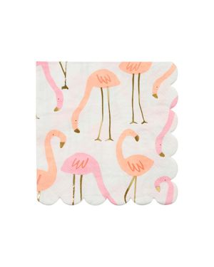 Meri Meri - Flamingo Small Napkin