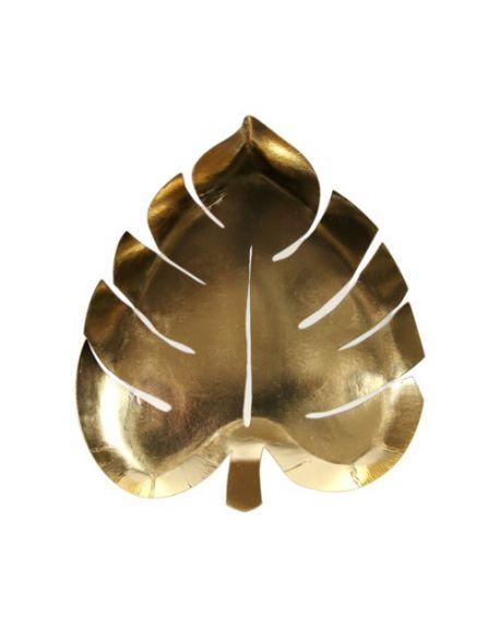 Meri meri - Assiettes Feuille de Palmier